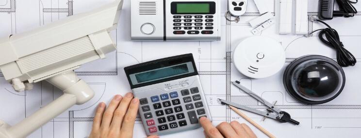 Beregne pris på boligalarm