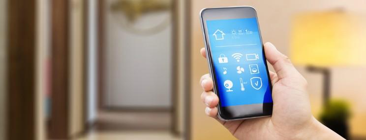 Styr boligen med mobilen
